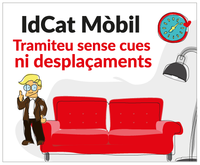 idCAT Mòbil, tramiteu sense cues ni desplaçaments
